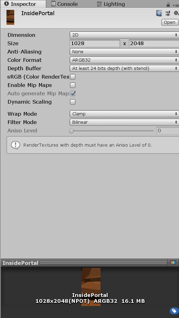 ARkit portal vuforia InsidePortal tutorial shader Fig.6