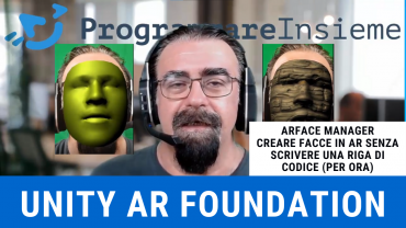 AR Foundation Unity ARFace Manager