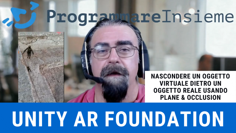 AR Foundation Unity AR Plane Occlusion shader