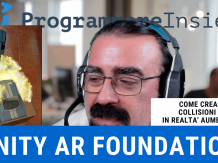 3D collision AR Foundation Unity