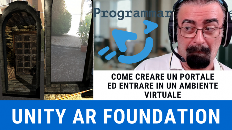 Portal 3D AR Foundation Unity