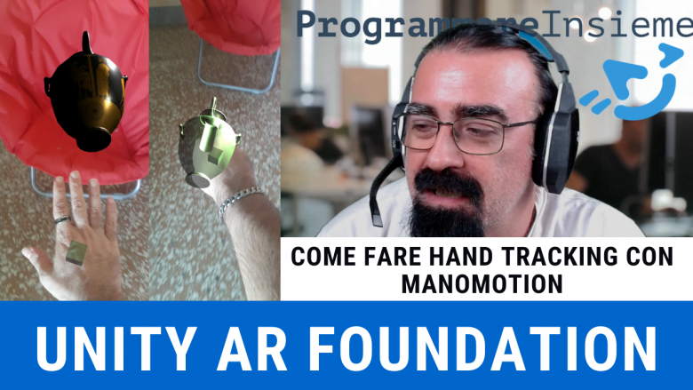 Hand Tracking Manomotion AR Foundation Unity